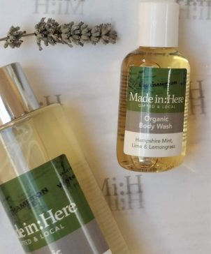New Forest Body Wash two sizes