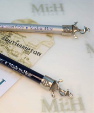 Pencil with pewter Anchor
