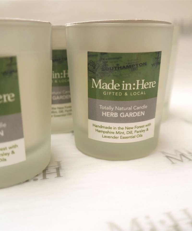Herb Garden soy wax candle