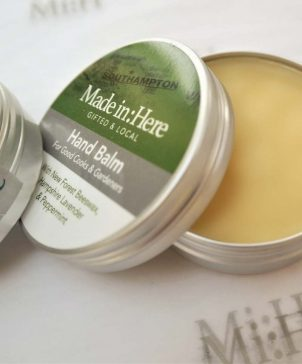 New Forest Hand Balm open tin