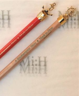 Gold plated pencil set