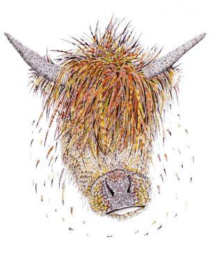 Highland Cow Greeting