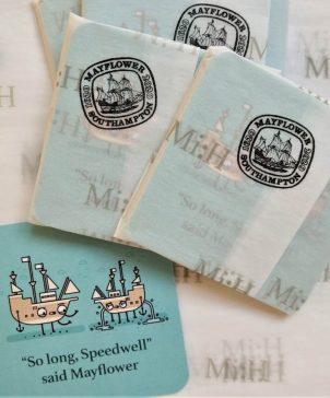 Illustrated Coasters Mayflower & Speedwell