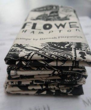 Oversized Monochrome Eco Tea Towels