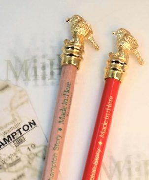 Gold Plated Robin Pencil