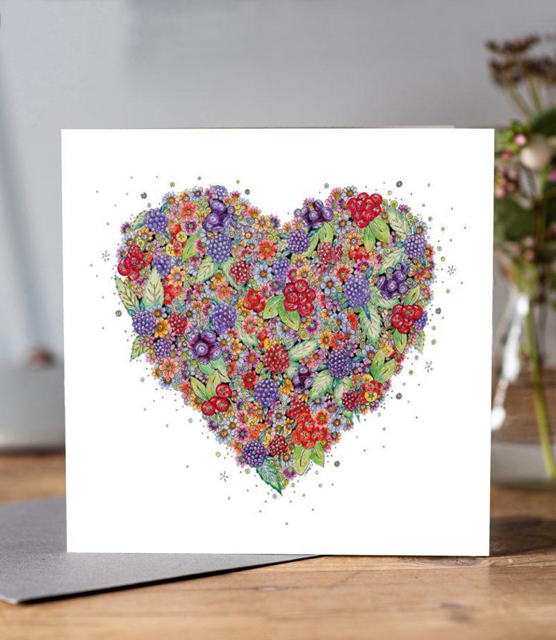very berry heart